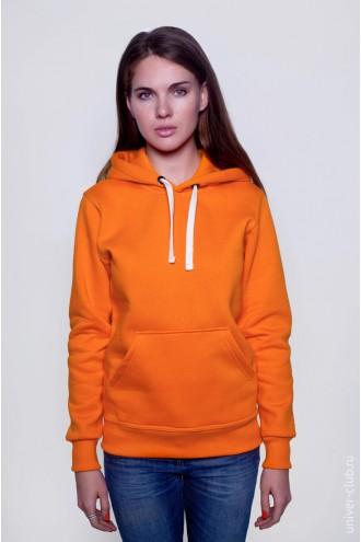 Толстовка женская оранжевая