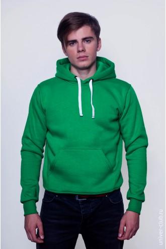 Толстовка мужская зеленая