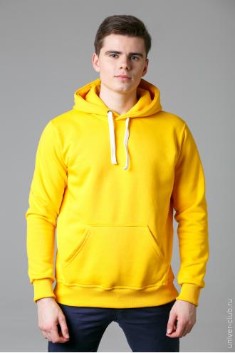 Толстовка мужская желтая