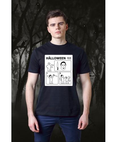 Футболка унисекс Halloween Instructions