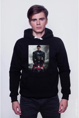 Толстовка Captain America