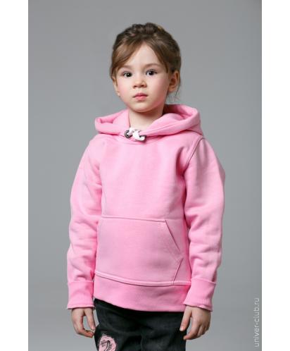 Розовая детская толстовка
