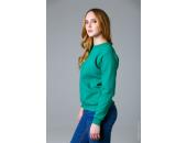 Свитшот женский зеленый