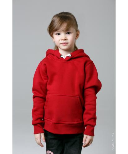 Красная детская толстовка