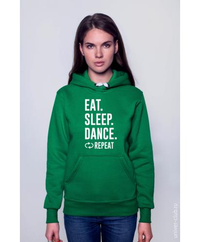 Толстовка Eat. Sleep. Dance. Repeat