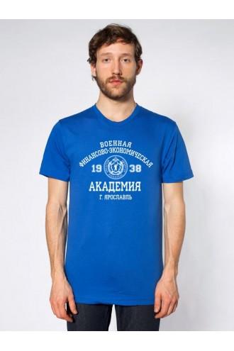 Футболка мужская ВФЭА синяя