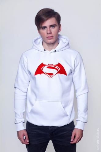 Толстовка «Бэтмен против Супермена»