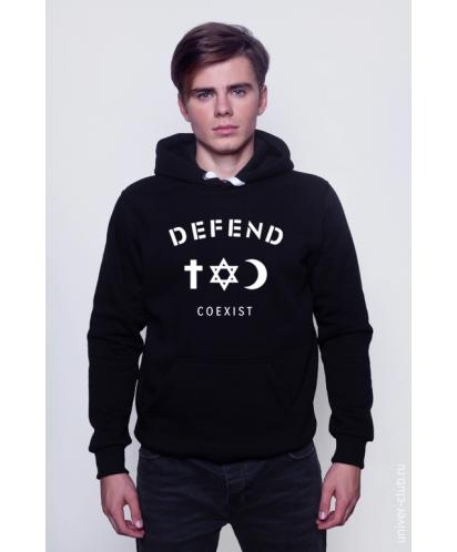 Толстовка Defend Coexist