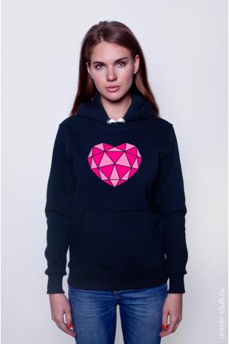 Толстовка Triangle Heart