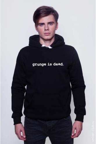 Толстовка Grunge is Dead