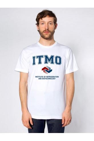 Футболка института холода и биотехнологий ИТМО