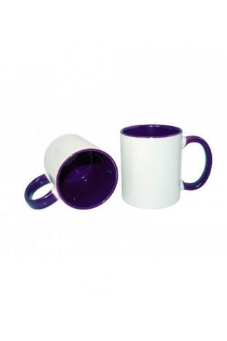 Фиолетовая кружка
