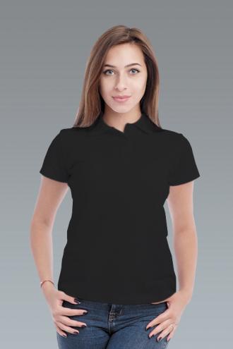 Рубашка-поло женская ченая