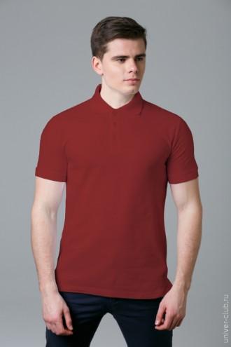 Рубашка-поло мужская белая