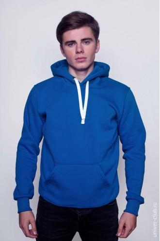 Толстовка мужская синяя