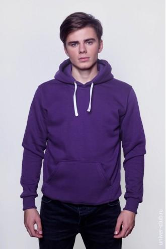 Толстовка мужская фиолетовая