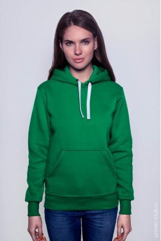Толстовка женская зеленая