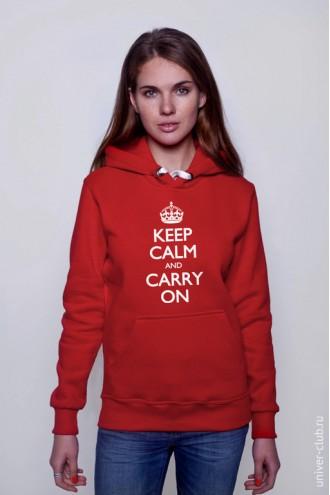 Толстовка Keep Calm And Carry On