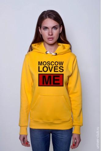 Толстовка Moscow Loves Me