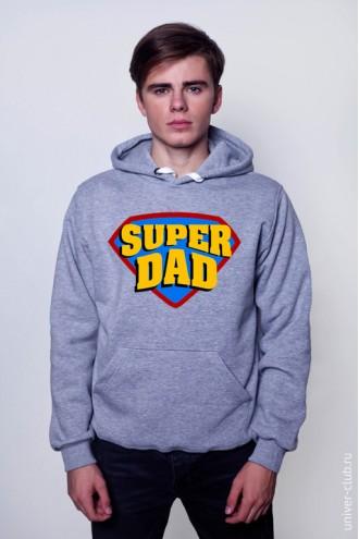 Толстовка Super Dad