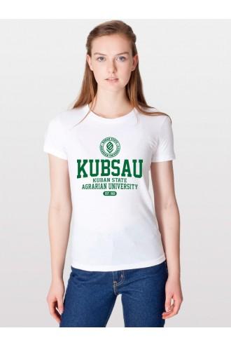 Футболка КубГАУ