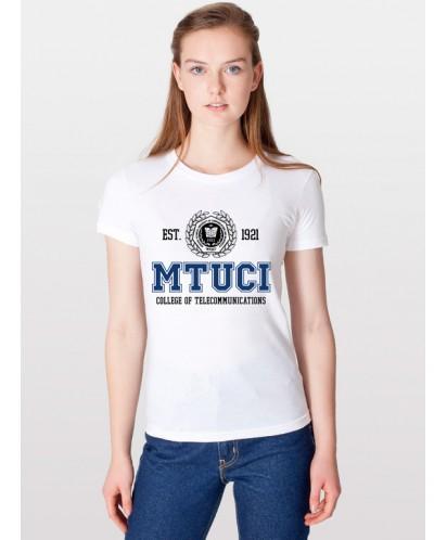 Футболка колледжа МТУСИ