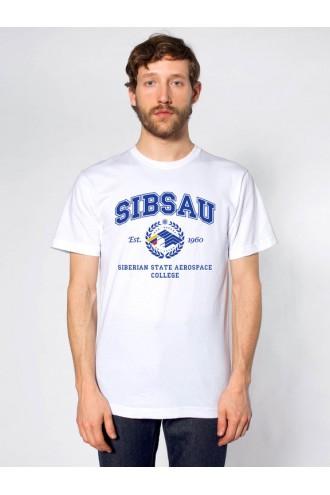 Футболка колледжа СибГАУ