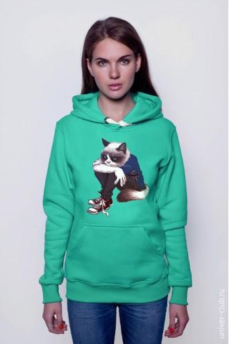 Толстовка Grumpy cat