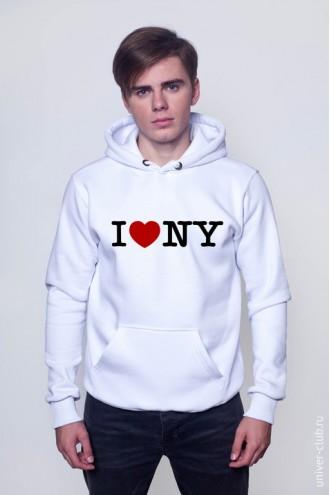 Толстовка I love NY (2)