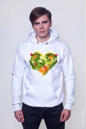 Толстовка «Любовь к еде»