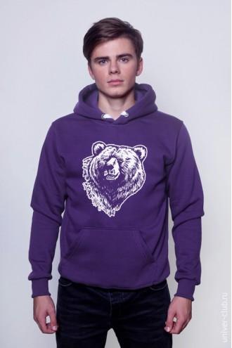 Толстовка Grizzly Bear