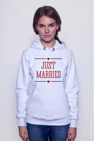 Толстовка Just Married