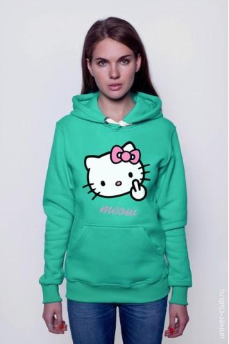 Толстовка Hello Kitty meow