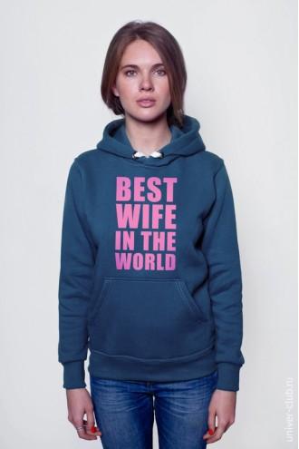 Толстовка Best wife