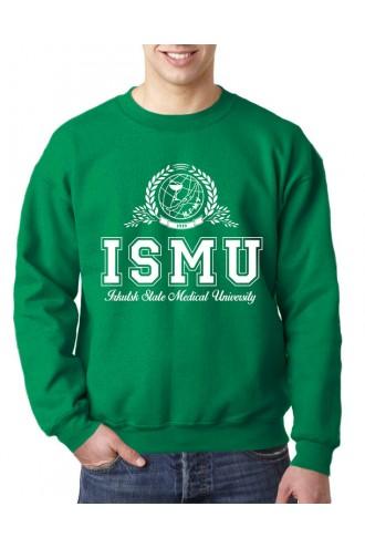 Свитшот мужской ИГМУ (ENG) зеленый